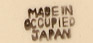 Made in Occupied Japan