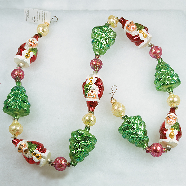 Pearl Garland For Christmas Tree: Christopher Radko Christmas Ornaments