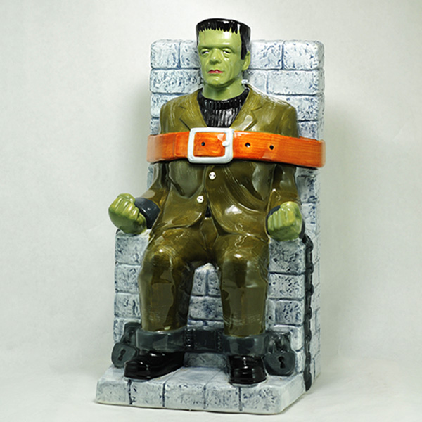 Treasure Craft Frankenstein Monster Cookie Jar Gallery Collection Universal Studios 1997