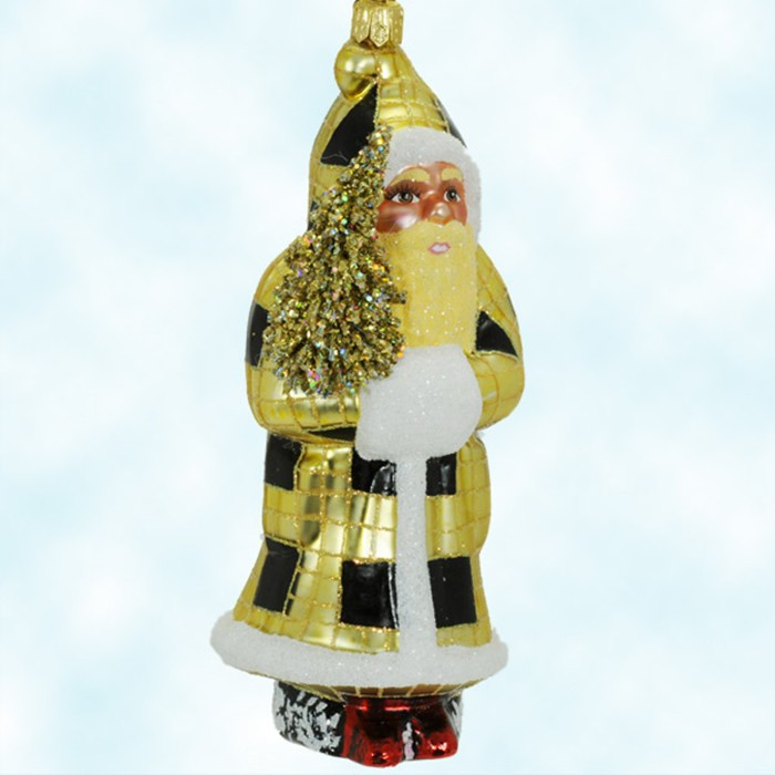 64560 - Black And Gold Christmas Decorations