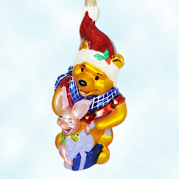 67020 - Winnie The Pooh Christmas Decorations