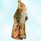 Regal Classic, Father Christmas, Gabriela Christoff Ino Schaller Ornaments, 2006, 400G, LTD 1000, beige robed SantaRegal Classic, Father Christmas, 2006, 400G, Gabriella Christoff, Light tan suit with