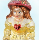 Bonnie Maureen - Breast Cancer Charity, Radko Christmas Ornament, 1999, 99-SP-47, Irish girl, heart, Christopher, Mint with Tag, Box