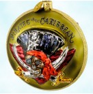 Pirates of the Caribbean - Disney, Radko Christmas Ornaments, 2006, 3011382, Elizabeth Swan, Aztec Gold, Christmas, Mint with Tag, Box