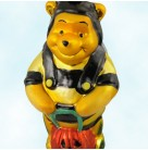 Halloween Pooh Bear - Disney, Radko Ornaments, 1997, 97-DIS-45, Bee, Jack O'Lantern, Christmas Christopher, Mint with Tag, Box