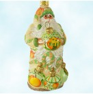 Let's Decorate - Peaches, Patricia Breen Christmas Ornaments, 2006, 2671, Peachtree Place exclusive, Limited 120, Santa, Mint With Tag