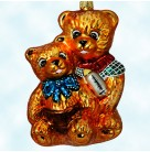 Beary Sweet, Christopher Radko Christmas Ornaments, 1998, 98-100-0, Mom & baby, Animals, Mother's day, Baby shower, Mint With Tag