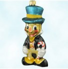 By Jiminy - Disney, Radko Christmas Ornaments, 1996, 96-DIS-11, Pinocchio, Cricket,, Mint with Tag, Box