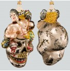 Head Slayer - Halloween, Larry Fraga Christmas Ornaments, H1071, Skull, corpse & blood, Mint with Tag, Box
