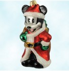 Christmas Eve Mickey - Disney, Radko Ornaments, 1996, 96-DIS-06, Ltd 500 Catalog Exclusive, Santa Mouse, Mint with Tag, Box