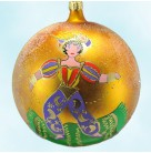 Persian Magic - Gold, Radko Christmas Ornaments, 1997, 97-305-0, Italian, Disney theme Aladdin, Mint with Tag