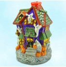 Howl Manor - Candle, Radko Christmas Decor, 2000, 00-593-0, Home for the Holidays, Halloween, ghosts, haunted house, Mint with Tag, Box