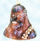 Chewbacca - Star Wars, Christopher Radko Christmas Ornaments, 1998, 98-STW-04, Brown, Wookie,, Mint with Tag, Box