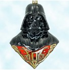 Lord Darth Vader - Star Wars, Polonaise Christmas Ornaments, , Bust, 1990s, AP2465, Bust, Mint with Tag, Box
