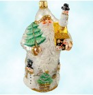 Surprise Santa - Pearl, Patricia Breen Christmas Ornaments, 2005, 2551, Restricted Quantity, Bejeweled, Mint with Tag