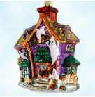 Howl Manor - Halloween, Radko Christmas Ornament, 1999, 99-299-0, Haunted house, ghost, Mint with Tag, Box