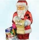1920 Santa, Radko Ornaments, 1997, 97-FAO-03, Ltd 3600, FAO Schwarz, List & blue bag, Christmas, Mint in Box