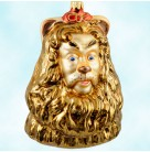 Wizard of Oz Cowardly Lion - Bust, Polonaise Christmas Ornaments, 1998, AP821, Bust, Bert Lahr, MGM, Cowardly Lion, 1939, Mint in Box