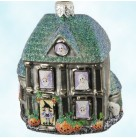 Boo Manor - Halloween, Patricia Breen Christmas Ornaments, 2002, 200NM, Neiman Marcus, Ltd 500, Haunted mansion, Mint with Tag