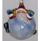 The Big Chill - Snowball Santa, Joy To The World - Komozja, Circa 2005, 2KP2356, Joy To The World, [additional keywords/phrases],  Patriotic, Mint with Tag, Box